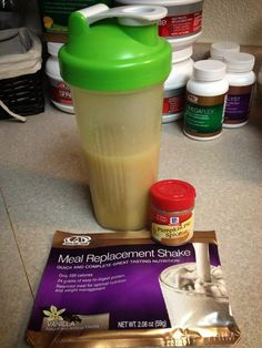 2-Ingredient Pumpkin Meal Shake! PERFECT for Fall!! Ingredients: Advocare Vanilla Meal Shake, Pumpkin pie spice Mix for desired tastiness and enjoy!