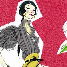 PAULA SANZ CABALLERO    The most fun a string of thread can have. http://www.fashion.net/art/paula-sanz-caballero