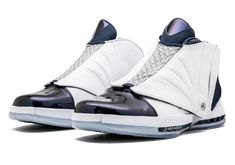 brand new 915f2 d437b Official Images Of The Air Jordan 16 Midnight Navy