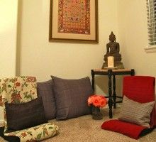 Transform a Small Corner of Your Home into a Peaceful RetreatAs we teach participants in the