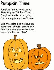 printable activities poems for kids halloween school