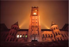 The old Central High School, Duluth, MN