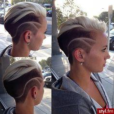 Bardzo krótko - bardzo trendy! Krótkie fryzury damskie - Strona 6   Styl.fm