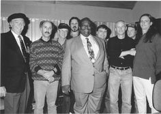 """Here's a picture from the vault!    B.B. King & Co. at Ardent in 1993. The album he recorded here, """"Blues Summit,"""" went on to win a Grammy for Best traditional Blues Album."""