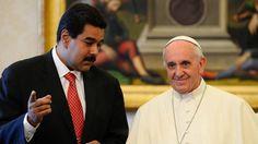 """El papa Francisco pidió que """"se evite o se suspenda"""" la Asamblea Constituyente en """"Venezuela La Santa Sede emitió un comunicado a horas de la instalación prevista por la dictadura de Nicolás Maduro y cinco días después de la fraudulenta elección"""
