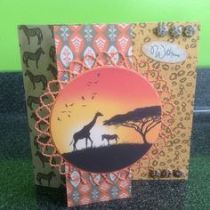 Craftwork Cards: Savannah By Lisa Shaw
