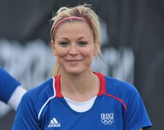 Laure Boulleau, French soccer team  Photo F.F.F.