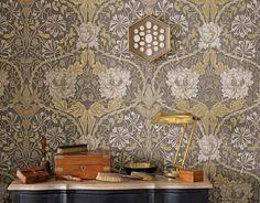 Penelope | Papel pintado barroco | Patrones de papel pintado | Papeles de los 70