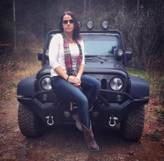 JEEP with Jeep Village® — jeepcrazygirl: Selfies with my side guy