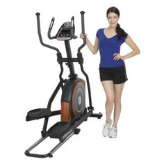 Exerpeutic 650 Heavy Duty 23-Inch Fitness Club Stride Programmable Elliptical From ProGear