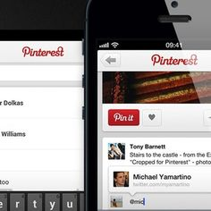 Pinterest Adds Mentions, Notifications to Mobile
