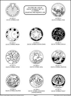 Pages 1 - 7 Celtic Symbols