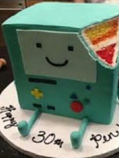 BMO cake very hard to make but very AWESOME!!!!!!