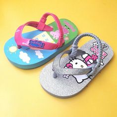 abc7dcc6f Baby infant toddler girls 2 pairs flip flop sandals size 5 6  fashion