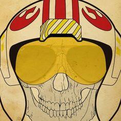 #skull #starwars #caveira #art #ilustracao #ilustration