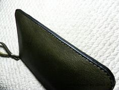 100% hand stitched handmade olive green by leathercraftbygrace
