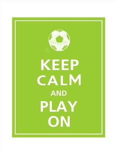 keep calm and play soccer Soccer Party, Play Soccer, Football Soccer, Soccer Banquet, Soccer Moms, Soccer Stuff, Softball, Volleyball, Basketball