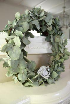 Eucalyptus Wreath ~ Love The Smell At Christmas