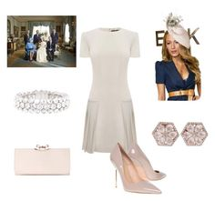 """""""Princess Elizabeth at Princess Ellie's Christening"""" by royal-fashion ❤ liked on Polyvore featuring Alexander McQueen, Kurt Geiger, Dana Rebecca Designs and Ted Baker"""
