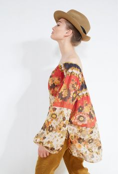 Marushka BLOUSE for women style. Paris women fashion designer store for women. Buy BLOUSE fashion in Paris. Hippie Chic, French Fashion Designers, Paris, Blouse Styles, Blouses For Women, Boutique, Store, Womens Fashion, Clothes