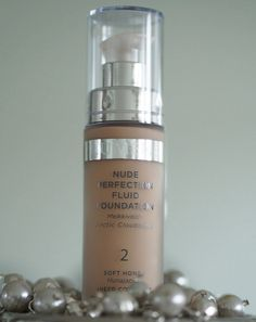 """""""Lumene Nude Perfection Fluid Foundation is so light that it gives your skin a no-make-up-feel. An absolute must-have for the upcoming summer season :)"""", says blogger Xenia. #foundation #lumene"""