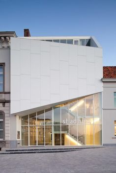 THE TOWN HALL OF HARELBEKE by Dehullu Architecten as .