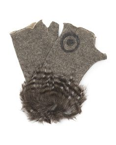 image of Women's Made in Italy Wool Blend Arm Warmers