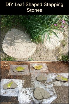 There is no reason why stepping stones have to be just functional. This project lets you create a unique piece for your garden!