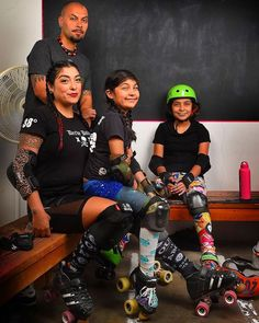 Check out DOMOnator and Skullerfly in the ESPN article about us!! http://ift.tt/1QSpUwi by lajrderbydolls