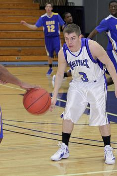 Ryan Plaice playing defense