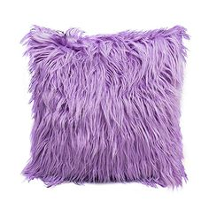 Amazon.com: MileMelo Pillow Cover Faux Fur Plushy Furry Throw Pillow Case Decorative Ultra Soft and Comfort, 18 x 18 Inch: Gateway