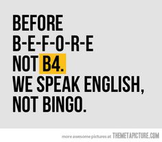 English not Bingo! I think that it depends. Just For Laughs, Just For You, Grammar Humor, Grammar Rules, Biology Humor, Chemistry Jokes, Science Jokes, The Meta Picture, Sunday Quotes