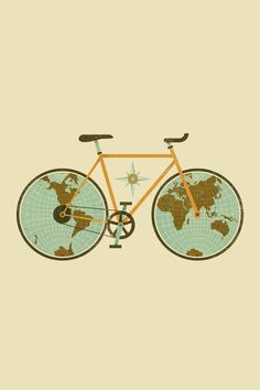 28 Free Phone Backgrounds That'll Totally Brighten Your Day Bycicle Illustration, Bycicle Art Simple Backgrounds, Phone Backgrounds, Wallpaper Backgrounds, Iphone Wallpaper, Travel Wallpaper, Nice Wallpapers, Flamingo Wallpaper, Velo Biking, Bicycle Illustration