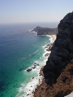 Clifts At Cape Point, South Africa