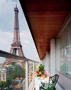 Paris Views with breakfast on the Terrace | ~LadyLuxury~