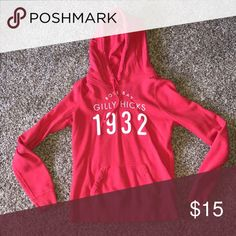 2cceabc5cc8d2 Gilly Hicks sweatshirt Gilly Hicks is a sister store to Hollister.  Sweatshirt is red and