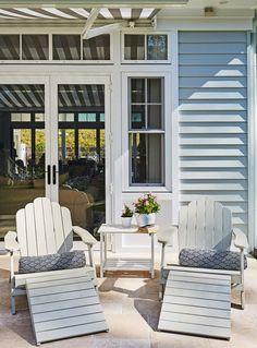 A Lesson in Coastal Style: Aussie Hamptons Hamptons Style Decor, The Hamptons, Coastal Cottage, Coastal Style, Farrow Ball, Ikea, Cottage Exterior, House Deck, Beach House Decor