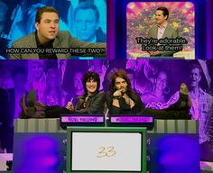 Big Fat Quiz of the Year, David Walliams, Jimmy Carr, Noel Fielding, Russell Brand Russell Brand, Noel Fielding, British Humor, British Comedy, Jimmy Carr, The Mighty Boosh, Mighty Mighty, Funny People, Comedians