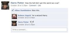 Harry Potter's Funniest Facebook Posts | SMOSH