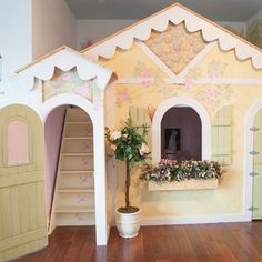 If I had a little girl..... Kids Indoor Playhouse