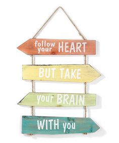 Funny Wall Sign Would love this for my boys rooms when their a little older. will have to make it look manlier Great Quotes, Quotes To Live By, Me Quotes, Inspirational Quotes, Motivational Quotes, Cool Words, Wise Words, Heart Wall, Heart Sign