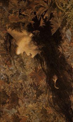 templeofapelles:Lucien Lévy-Dhurmer, A Gust of Wind