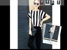 2 piece set women Stripe T-shirt elastic stretch leisure fashion women winter pants track suit conju