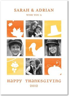 Thanksgiving Favorites - Happy Thanksgiving Greeting Cards from Treat.com