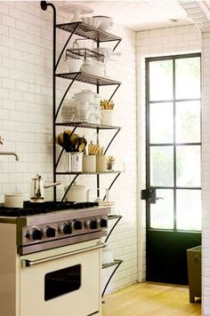 industrial shelves +