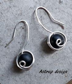 Jasper Jewellery – Earrings,black Onyx,dangle earrings,Onyx earrings  – a unique product by lisaastrup on DaWanda