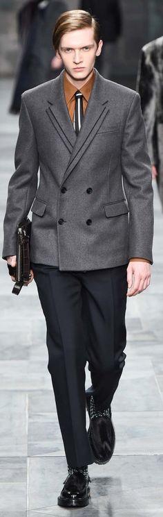 Fendi Fall 2015 | Men's Fashion & Stye | Shop Menswear, Men's Clothes, Men's Apparel, Moda Masculina at designerclothingfans.com