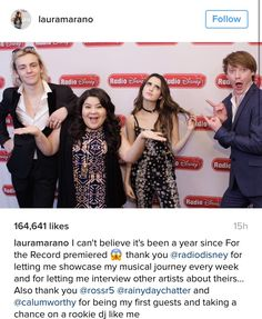 Laura's message to A&A cast