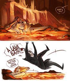 HAHAHAHA I love Sauron so much