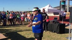 """Sean Astin's introduction at the 2nd Run3rd 5K. Sean Astin made an unexpected appearance at the 2nd Run3rd 5K in Mesa AZ, April 2, 2016. He gave a shout-out to his Loyals, praised the race directors Mindy & Kris Przeor, and led a moment of silence for his mom, Anna Marie """"Patty Duke"""" Pearce."""